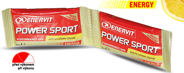 Enervit Power Sport Double Use - citron/smetana 60 g