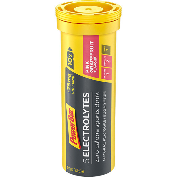 Powerbar 5 Electrolytes - Grapefruit, tuba 10 tablet