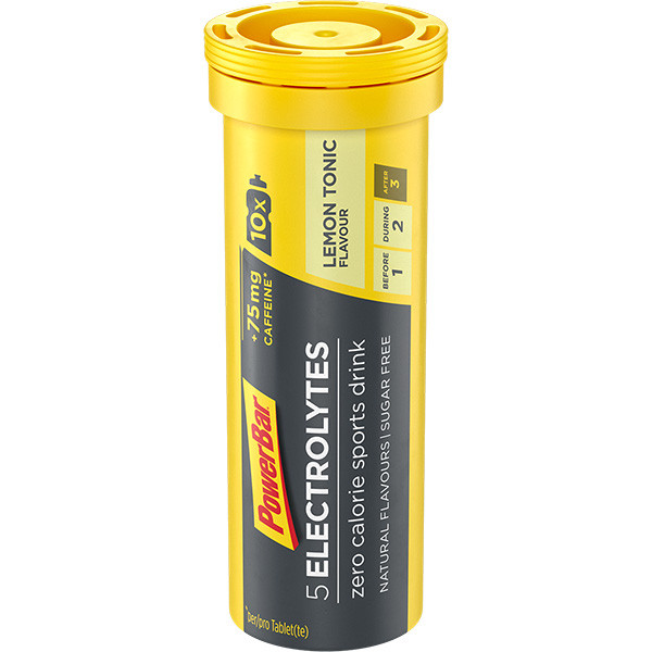 Powerbar 5 Electrolytes - Citron/Tonic, tuba 10 tablet
