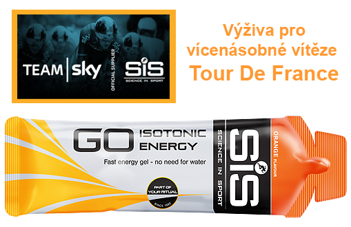 SiS GO Isotonic Energy Gel - pomeranč, 60 ml
