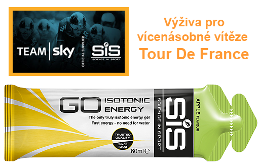 SiS GO Isotonic Energy Gel - jablko, 60 ml
