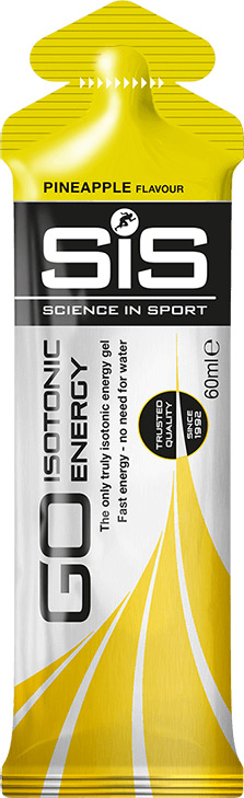 SiS GO Isotonic Energy Gel - ananas, 60 ml