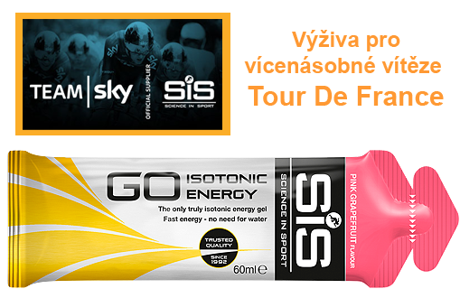 SiS GO Isotonic Energy Gel - růžový grep, 60 ml