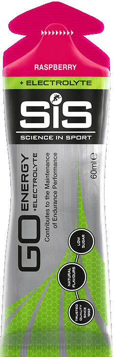SiS GO Energy Gel Electrolyte - malina, 60 ml