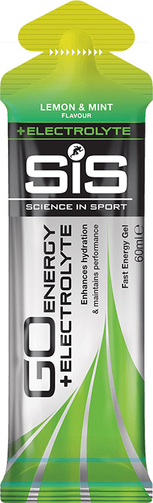 SiS GO Energy Gel Electrolyte - citron s mátou, 60 ml