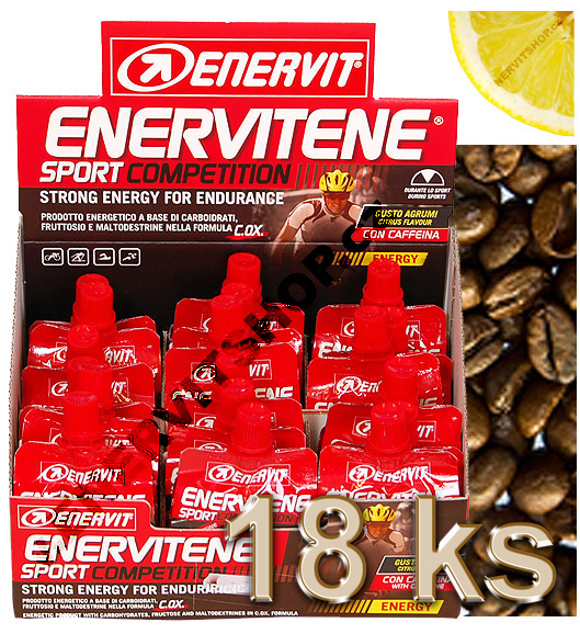 Enervit Display Sport Competition kofein/citrus