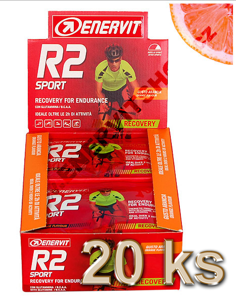 Enervit Display R2 Sport - pomeranč
