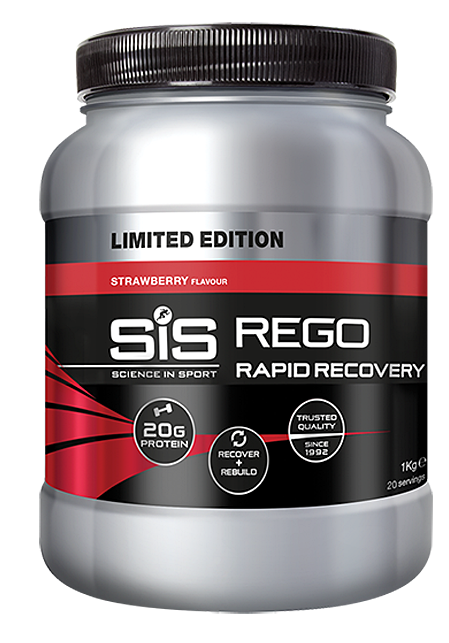 SIS Rapid Recovery  - jahoda 1000 g