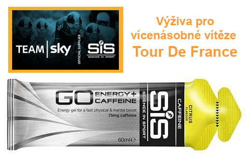SiS GO Energy Caffeine Gel - citrus, 60 ml