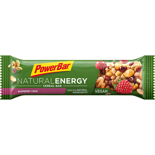 PowerBar Natural Energy tyčinka - malina 40 g