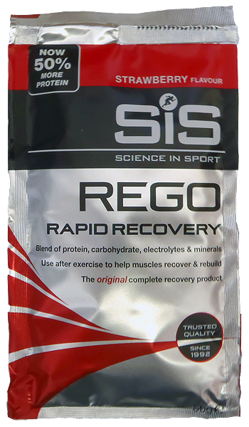 SiS Rego Rapid Recovery - jahoda 50 g