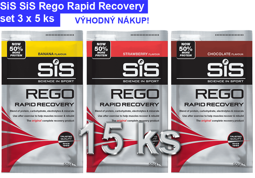 SiS Rego Rapid Recovery - set 15 ks