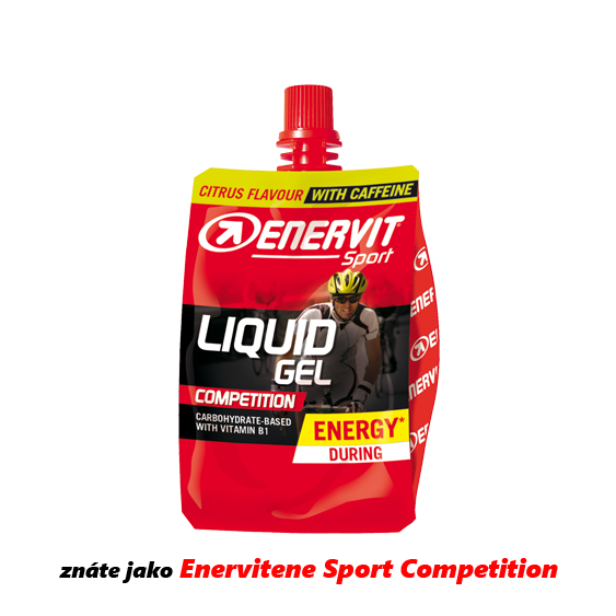Enervit Liquid Gel Competition kofein/citrus