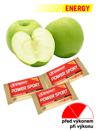 Enervit Power Sport Double Use - jablko 60 g