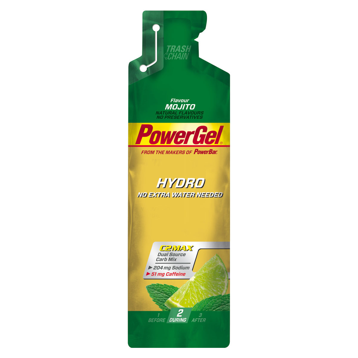 PowerBarHydroGel - mojito+kofein 67 ml