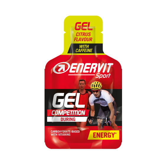 Enervit gel s kofeinem - citrus 25 ml
