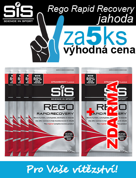 SiS Rego Rapid Recovery - jahoda 4+1