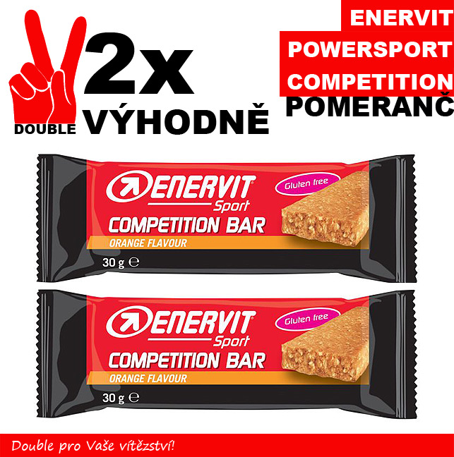 ENERVIT POWER SPORT competition - 2 x pomeranč 30 g