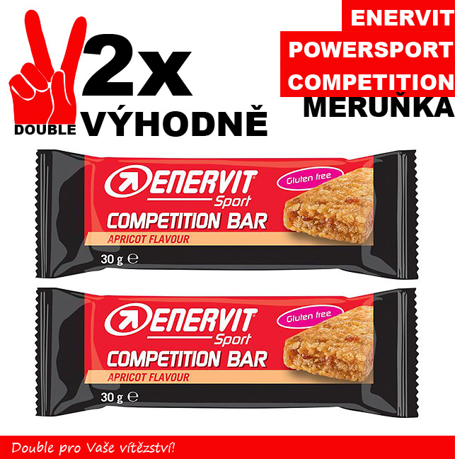 ENERVIT POWER SPORT competition - 2 x meruňka 30 g
