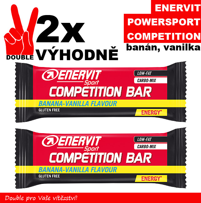 Enervit Power Sport Competition - 2 x banán