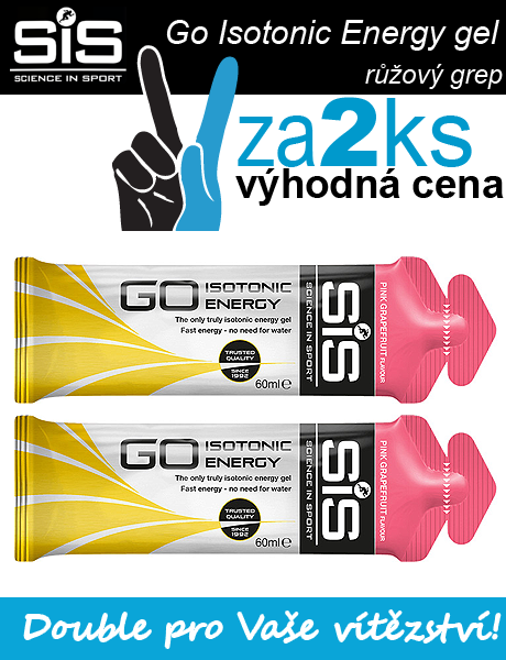 SiS GO Isotonic Energy Gel - 2 x růžový grep, 60 ml