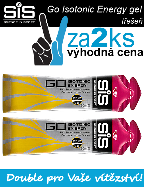 SiS GO Isotonic Energy Gel - 2 x třešeň, 60 ml