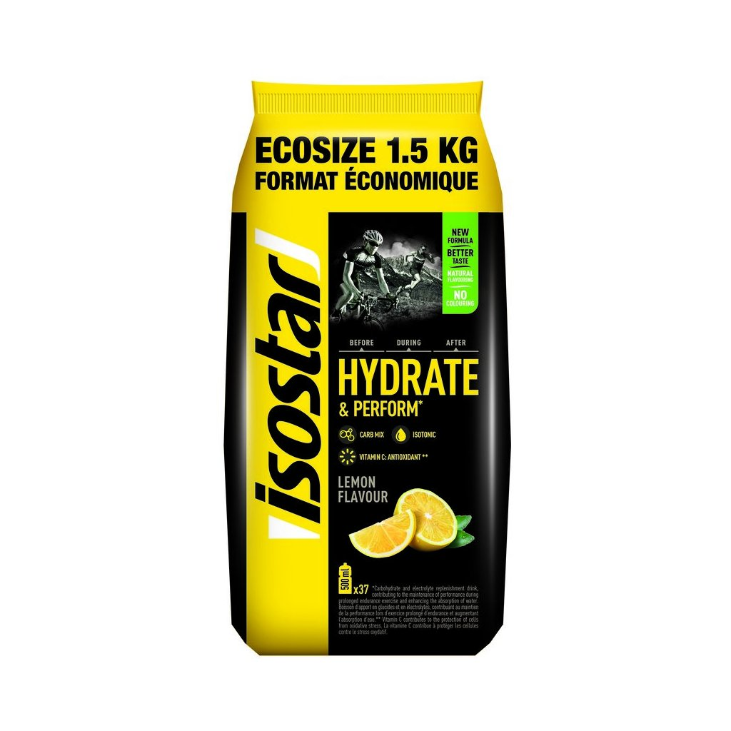Isostar Hydrate & Perform 1500 g citron
