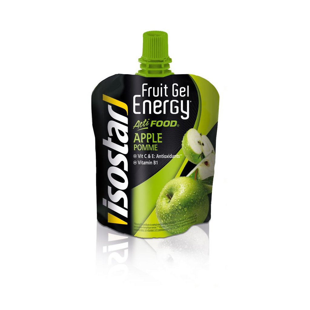 Isostar Fruit GelEnergy Activefood - jablko, 90 g