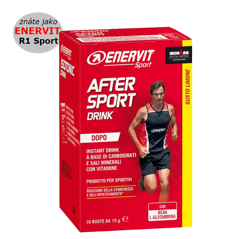 Enervit After Sport - citron 10 x 15 g