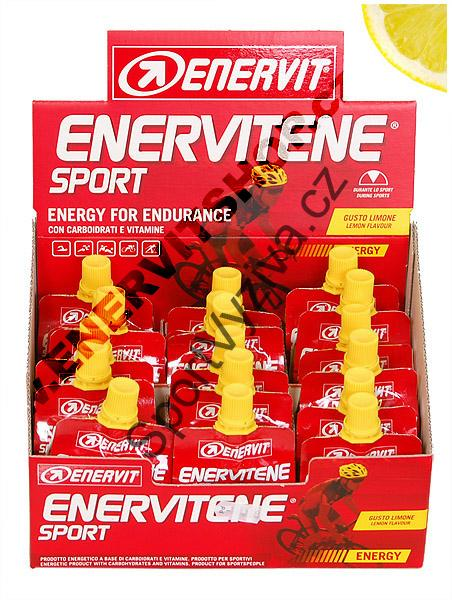 Enervit liquid gel - citron
